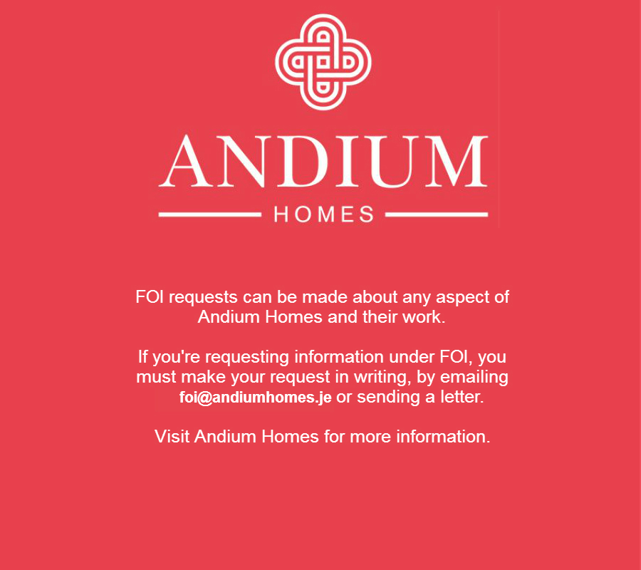 Andium Homes Freedom of Information requests