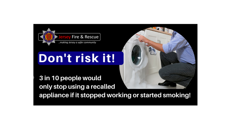 A banner in support of Electrical Fire Safety