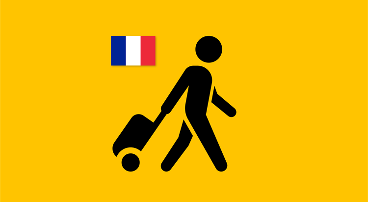 Travellers from France required to be tested on arrival and five days after arrival