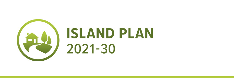 Island plan logo 2021 to 2030