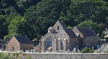 Photo of St Brelade parish church