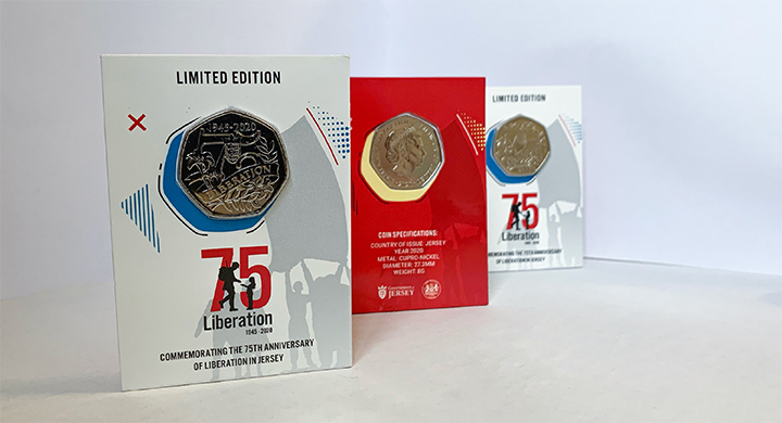 Liberation 75 coin set