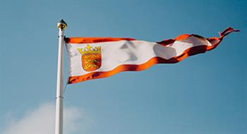 Photo of Jersey flag