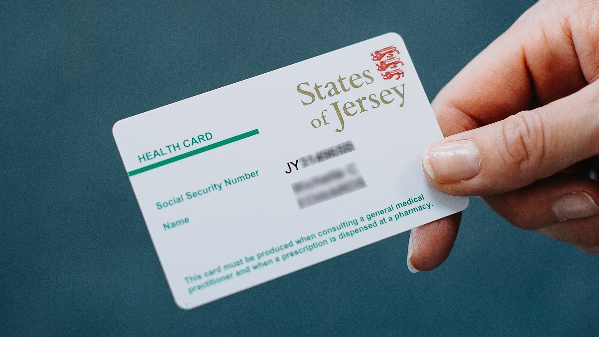 Jersey health care card
