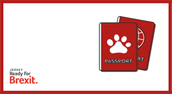 Jersey Ready for Brexit: Pet passports logo