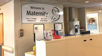 The maternity unit