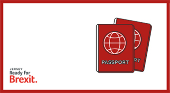 Jersey Ready for Brexit: Passports logo