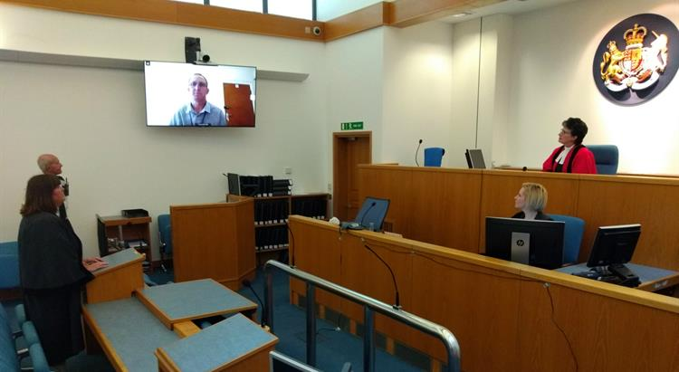 Inside Magistrate's Courtroom