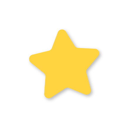 Rounded version of a star shape
